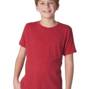 next level n6310 custom youth triblend shirt bulk custom shirts red