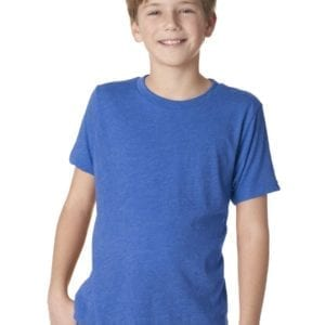 next level n6310 custom youth triblend shirt bulk custom shirts royal