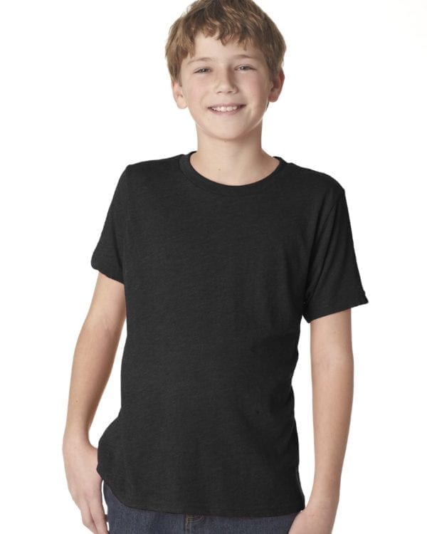 next level n6310 custom youth triblend shirt bulk custom shirts vinatage black