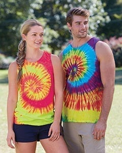 tie-die cd3500 custom tank top