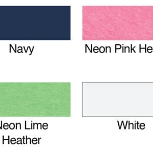 bulk custom shirts hanes 42v0 ladies xtemp custom performance vneck color swatch
